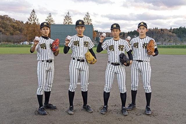 感謝の気持ちでのぞむ大会 目標は東北優勝!     明桜高校