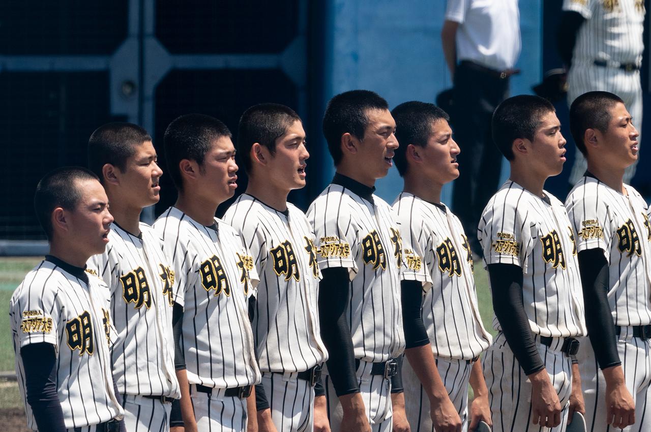 投打光る明桜、秋田独自の野球大会を制す    2020秋田県高等学校野球大会