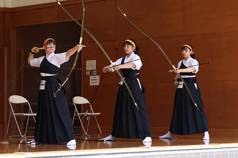 第12回岩手県高等学校弓道遠的選手権大会