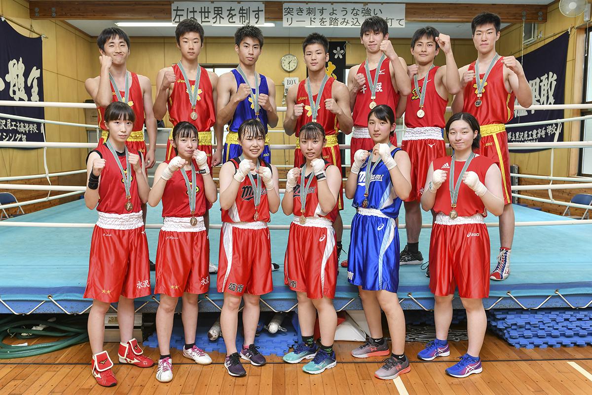 令和2年度 岩手県ボクシング連盟合同練習会