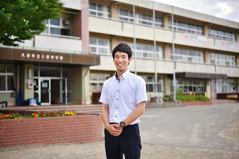 アスリートたちのセカンドキャリア   久慈中学校教諭  三浦翔太