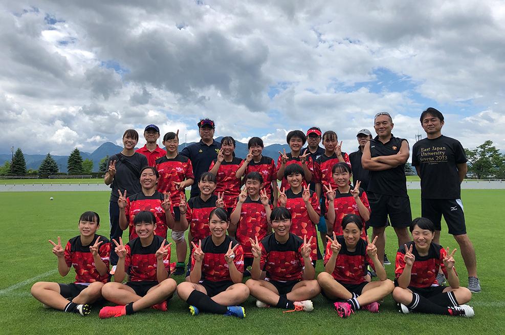 岩手女子ラグビーの新たな形を求める 東北初の中学生女子チーム     岩手ABLAZE R.F.C(アブレイズ)