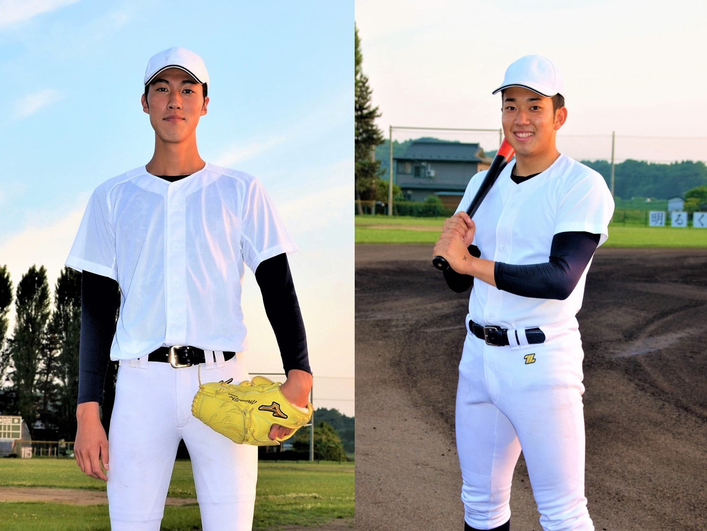 仲間でありライバル Wエースで勝利を掴む 八戸西高校  3年/投手 福島蓮 3年/投手 廣田大和